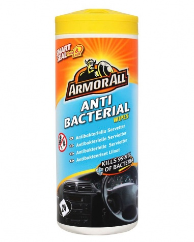 Armor All Antibacterial Wipes 24st